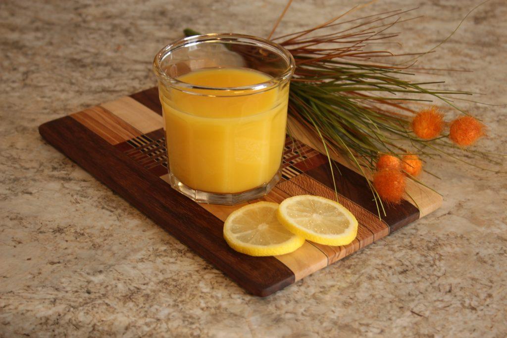 zumo de naranja con propolis