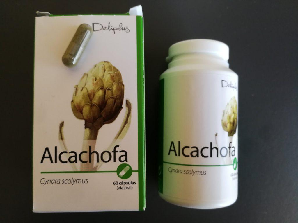 cápsulas de alcachofa mercadona