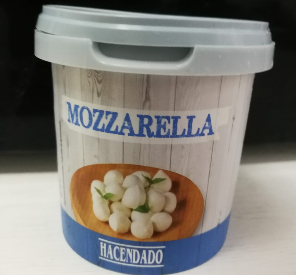 Mozzarella hacendado mercadona