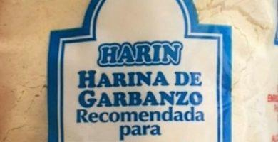 harina de garbanzo mercadona