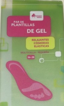 plantillas de gel Mercadona