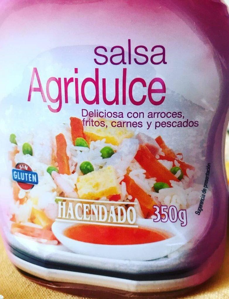 salsa agridulce mercadona