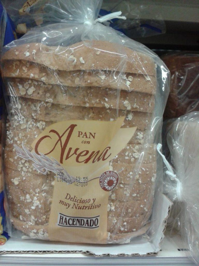 pan de avena mercadona