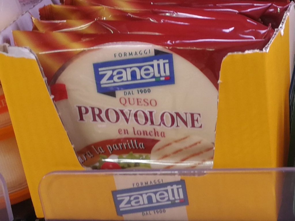 queso provolone mercadona
